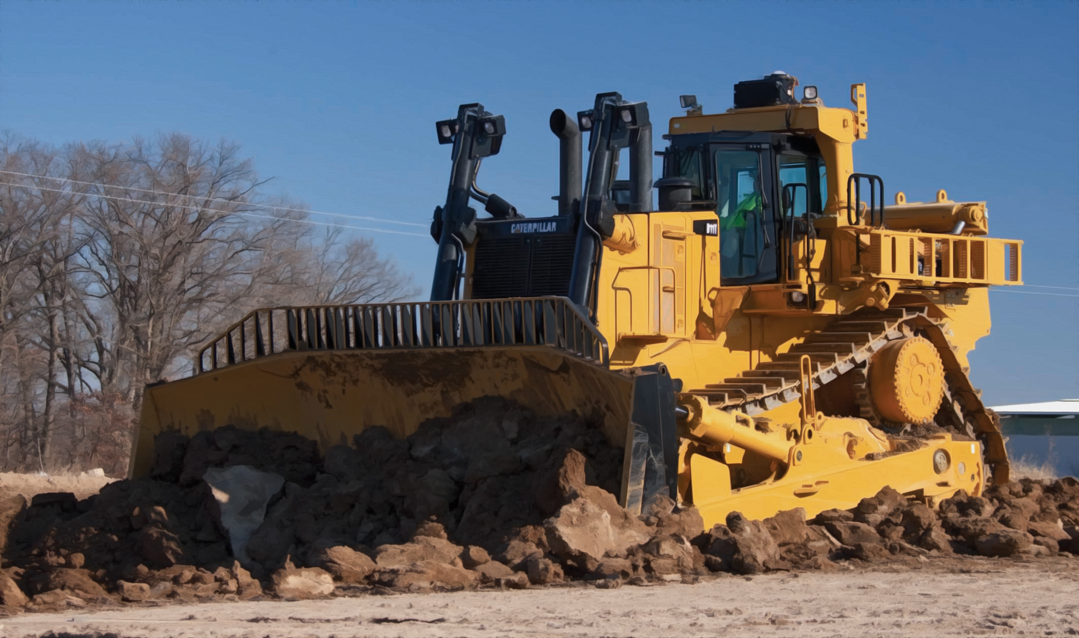 Proper Service For Your Largest Machines