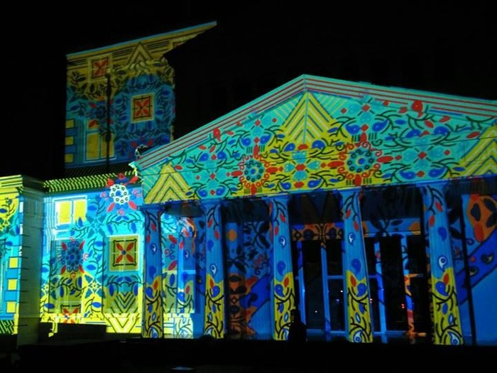 What does video mapping involve?